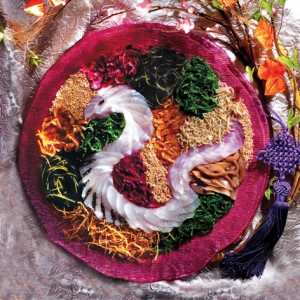 Yu Sheng in the form of a snake