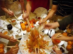 Tossing of Yu Sheng