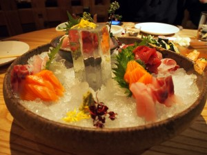 Fine Sashimi at Zuma London