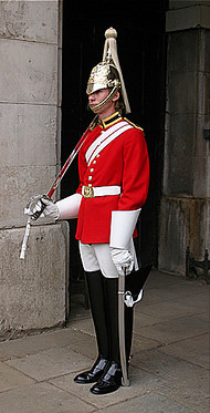 Royal Guardsman in London