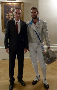 Alex Bela and Aron Szilagyi at Landsdowne Club | Yvanne Teo