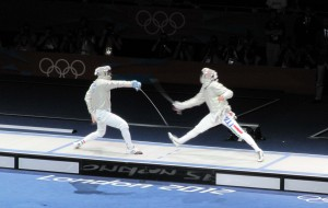 Sabre Fencing, Olympics 2012 | Yvanne Teo