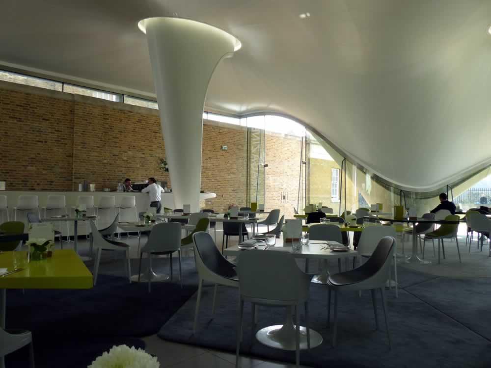 The magazine restaurant serpentine galleries