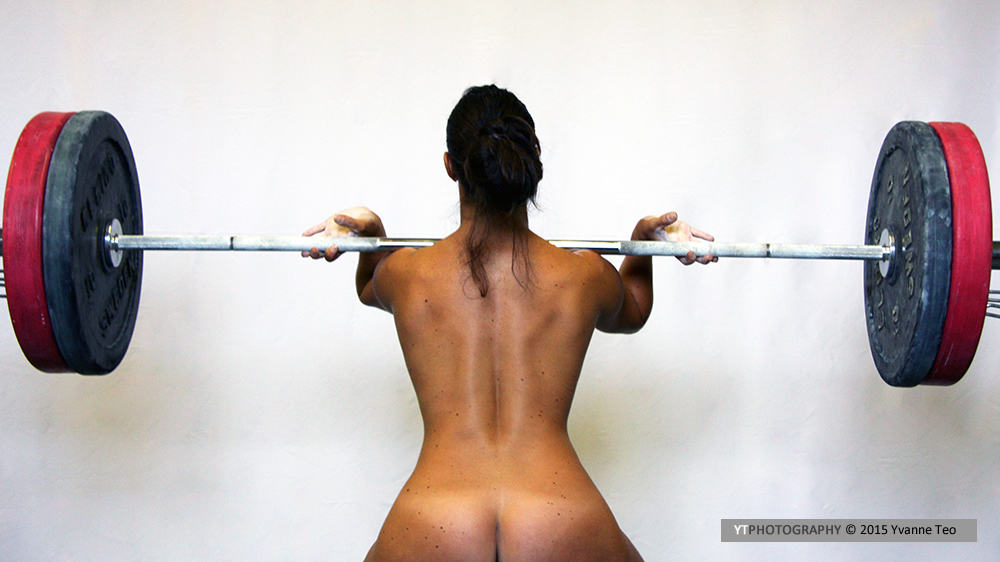 Female weightlifter | ytPhotography | Yvanne Teo