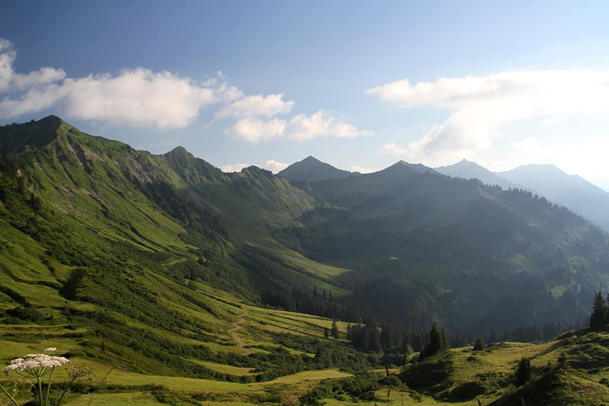 View at Furkajoch, Vorarlberg, Austria | Yvanne Teo