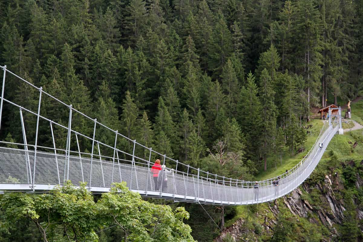 Holzgau Suspension Bridge, Tirol, Austria | Yvanne Teo