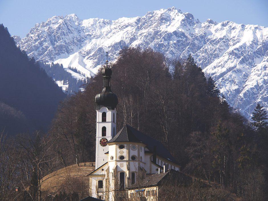 Architecture: Sankt Maria Geburt und Sankt Ulrich, Tschagguns, Montafon, Vorarlberg, Austria | Yvanne Teo